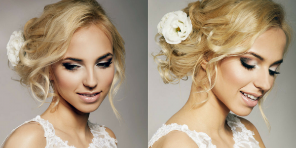 MAKEUP TRENDY step by step BRIDAL MAKE UP