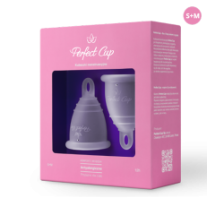 Menstrual cup TRANSPARENT - Perfect Cup