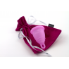 Menstrual cup – Zero Waste - DARK PINK - Perfect Cup