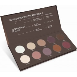 Pressed eyeshadow naturally matt palette - AFFECT