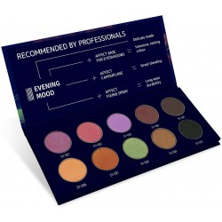 Pressed eyeshadow palette Evening Mood - AFFECT