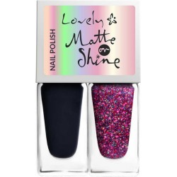 MATTE OR SHINE NAIL POLISH - LOVELY