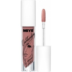 OUTSTANDING Liquid Lipstick - 4 STRONGER THAN ME - MIYO