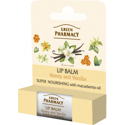 Lip balm, Honey and Vanilla, Super Nourishing, SPF 10 - GREEN PHARMACY