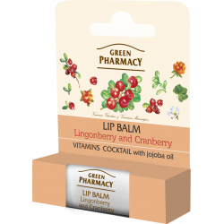 Lip balm, Lingonberry and Cranberry, Vitamin Cocktail, SPF 10 - GREEN PHARMACY