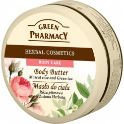 Body Butter, Muscat Rose and Green Tea 200ml - GREEN PHARMACY