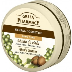 Body Butter, Shea Butter and Green Coffee 200ml - GREEN PHARMACY