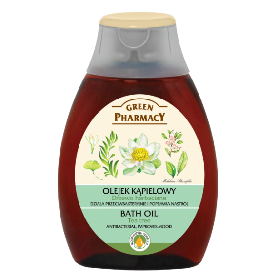 Bath Oil, Tea Tree 250ml - GREEN PHARMACY