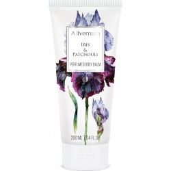 IRIS & PATCHOULI  - Luxurious, perfumed body balm 200ml - ALLVERNUM