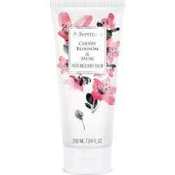 CHERRY BLOOSOM & MUSK - Luxurious, perfumed body balm 200ml - ALLVERNUM