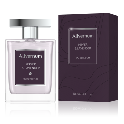 PEPPER & LAVENDER - Eau de Parfum for Men 100ml - ALLVERNUM