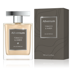 TOBACCO & AMBER - Eau de Parfum for Men 100ml - ALLVERNUM
