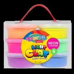 Light Clay 6 neon colours - COLORINO