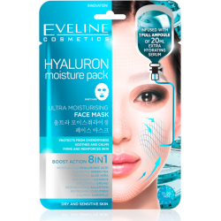 HYALURON Moisture Pack Sheet Mask - Ultra-moisturizing Korean sheet mask - EVELINE COSMETICS