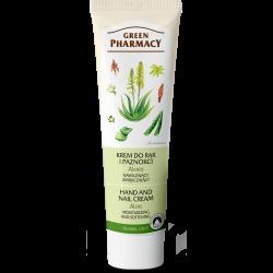Hand and Nail Cream Moisturizing and Softening, Aloe - GREEN PHARMACY