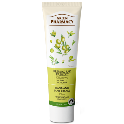Hand and Nail Cream Nourishing and Protective, Olive - GREEN PHARMACY