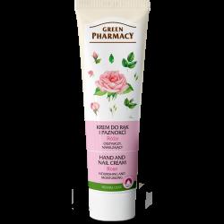 Hand and Nail Cream: Nourishing, Moisturizing, Rose - GREEN PHARMACY