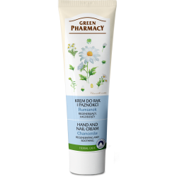 Hand and Nail Cream Regenerating and Soothing, Chamomile - GREEN PHARMACY