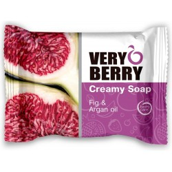 Creamy Soap, FIG & ARGAN OIL 100G - VERY BERRY
