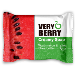 Creamy Soap, WATERMELON & SHEA BUTTER - VERY BERRY
