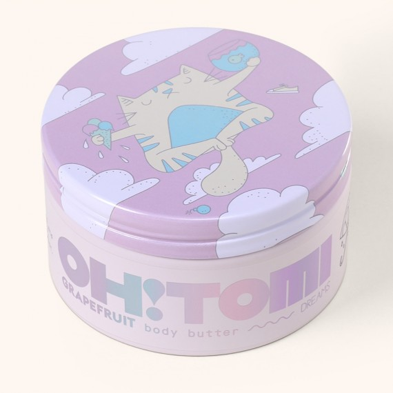 Body Butter GRAPEFRUIT Dreams Collection - Oh!Tomi