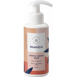 LIQUID SOAP WITH HEMP OIL 200 ML - MANAYA