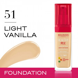 Bourjois Foundation Healthy Mix nr 051 Light Vanilla 30ml