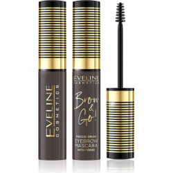 Eveline Brow & Go PRECISE BRUSH EYEBROW MASCARA 01 LIGHT 10 ML
