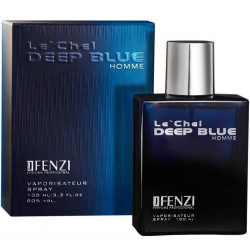 Le' Chel DEEP BLUE HOMME eau de parfum for men 100 ml J' Fenzi