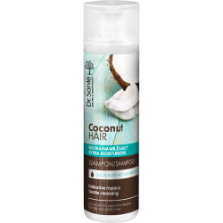 COCONUT HAIR shampoo with coconut oil 250ml - Dr. Santé