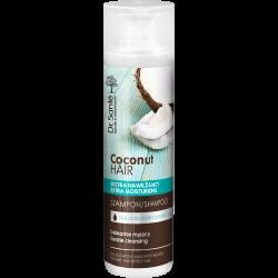 COCONUT HAIR shampoo with coconut oil 250ml - Dr. Santé