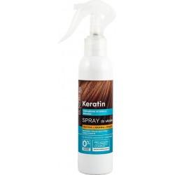 KERATIN hårspray med keratin, arginin og kollagen for kjedelig og sprøtt hår 150ml - Dr. Santé