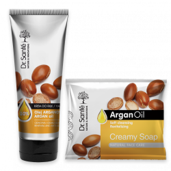 duopack Dr. Sante - argan oil - hand cream + soap