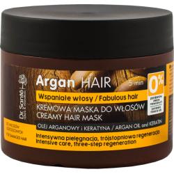 ARGAN HAIR creamy hair mask with argan oil And keratin 300ml - Dr. Santé