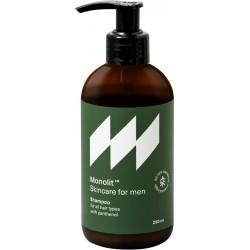 Herresjampo med panthenol for alle typer hår og hodebunn 250ml - MONOLIT