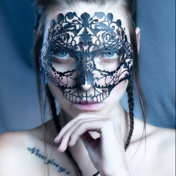 Skullace Mask- Face Lace