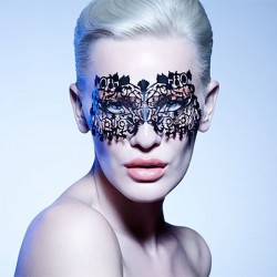 The Musetress Mask Black- Face Lace