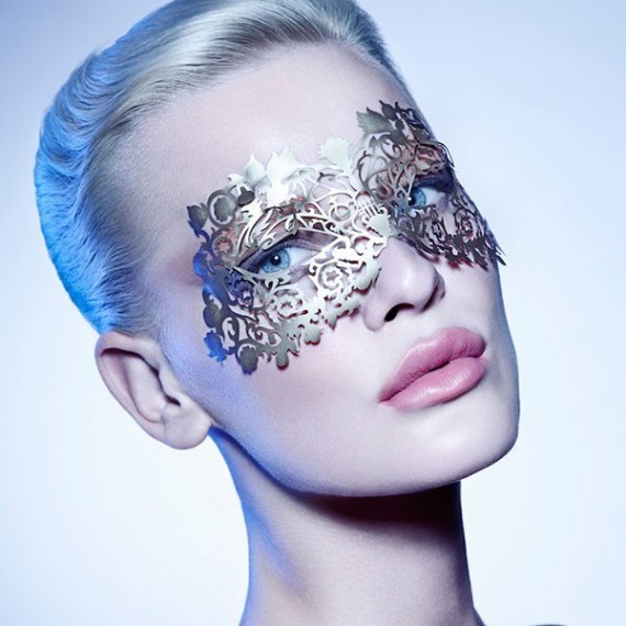 The Musetress Mask Gold- Face Lace