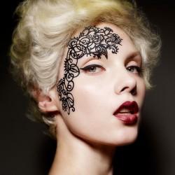 Mehndoodle- Face Lace