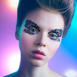 Featherette- Face Lace