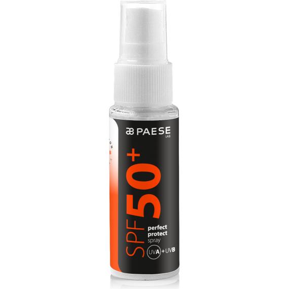 SPF 50+ Perfect Protect Spray UVB+ UVB- Paese Cosmetics