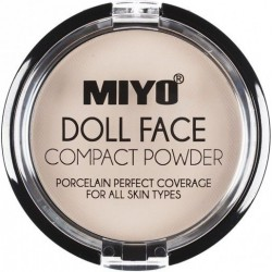 Doll Face Compact Powder Vanilla- Miyo