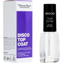 DISCO TOP COAT Fluorescent top coat - Pierre Rene Professional