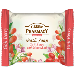 Bath Soap Goji Berry with almond oil - GREEN PHARMACY