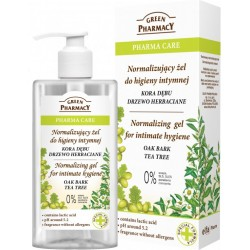 Normalising gel for intimate hygiene Oak Bark Tea tree - GREEN PHARMACY