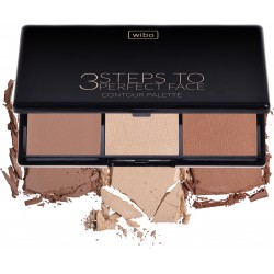 3 Steps to Perfect Face- Contour Palette- WIBO