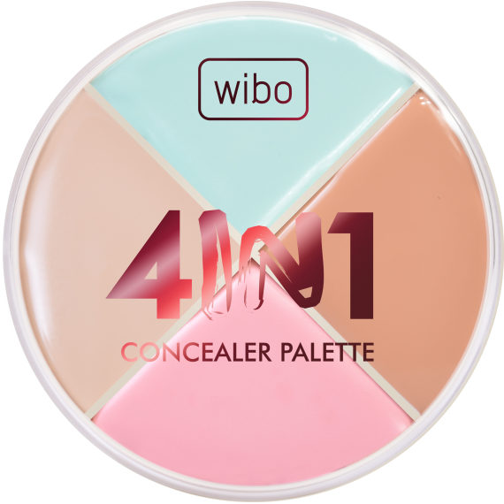 4 in 1 Concealer Palette - WIBO