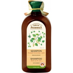 Anti-dandruff shampoo Birch tar and Zinc - GREEN PHARMACY