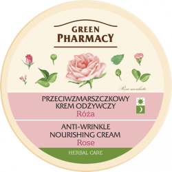 Anti-wrinkle, vanishing cream Rose - GREEN PHARMACY