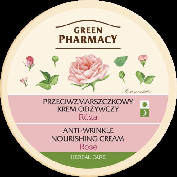 Anti-wrinkle, vanishing cream Rose - GREEN PHARMACY